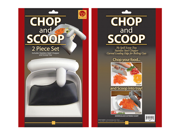 Chop and Scoop Pacjaging