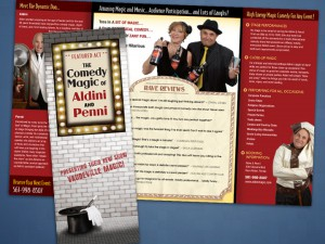 Aldini Magic Brochure