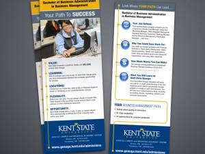 Kent State Rack Card