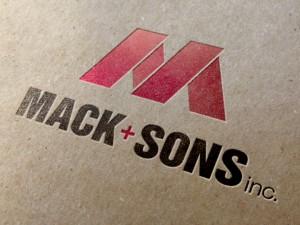 Mack & Sons Logo