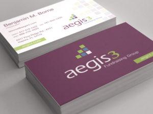 Aegis3 Logo, Stationery