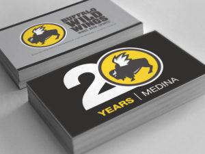 Buffalo Wild Wings Anniversary Logo