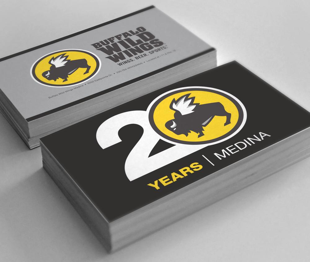 20th Anniversary Logo Design