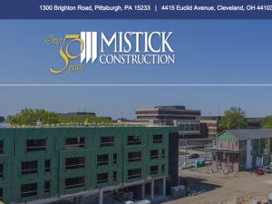 Mistick Construction Website