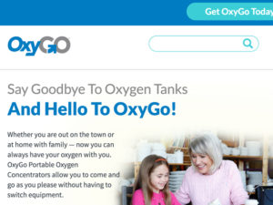 OxyGo Website