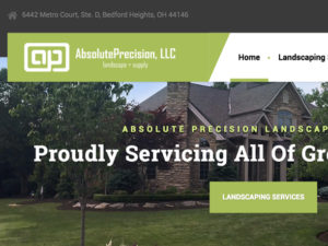 Absolute Precision Landscaping Website