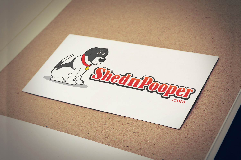 ShednPooper Logo Mascot