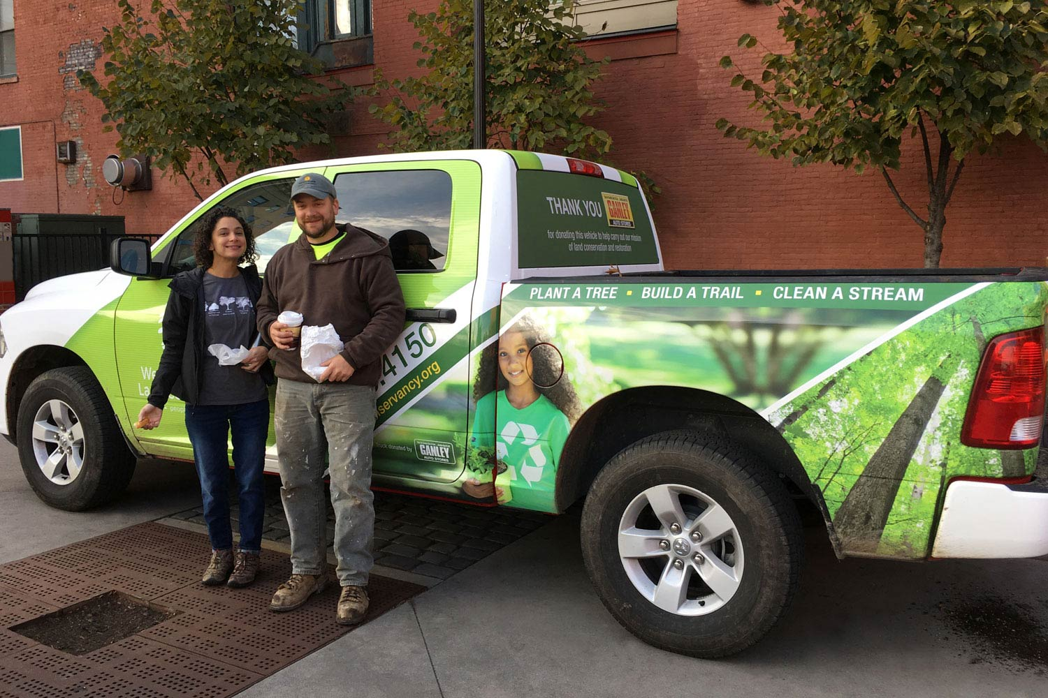 Western Reserve Land Conservancy vehicle wrap
