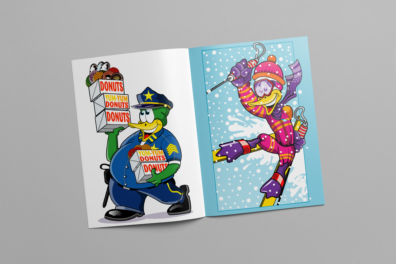 Digital character illustration
