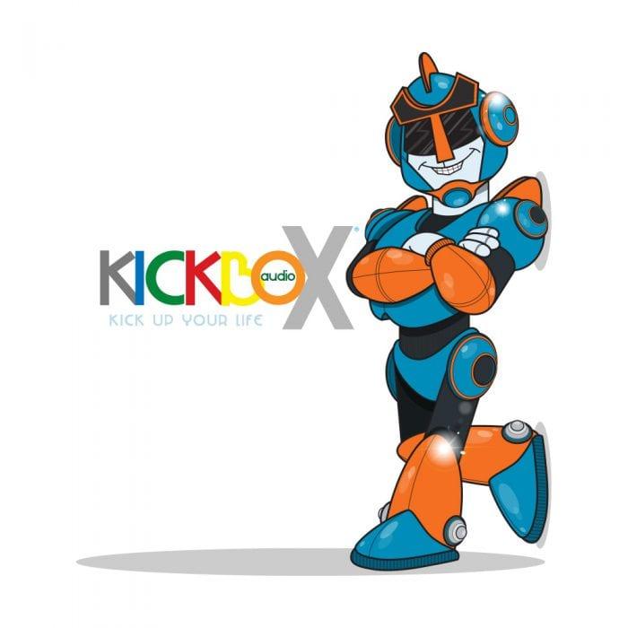 Kickbox Audio Mascot