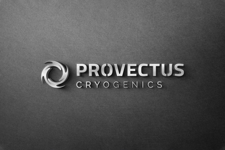 Provectus Cryogenics logo and sign design