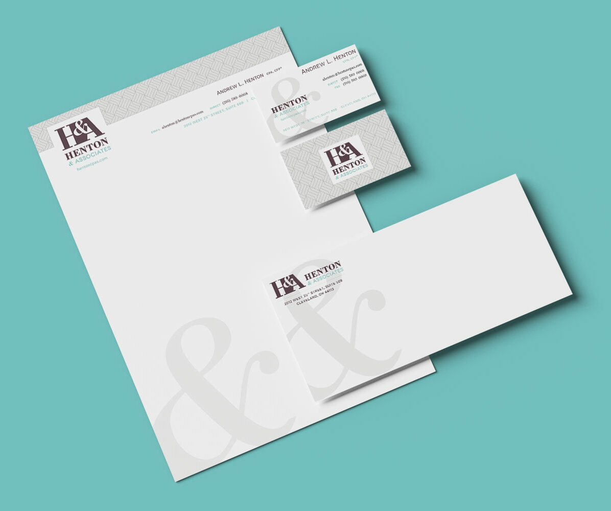 Accounting Firm Branding and Stationery Design