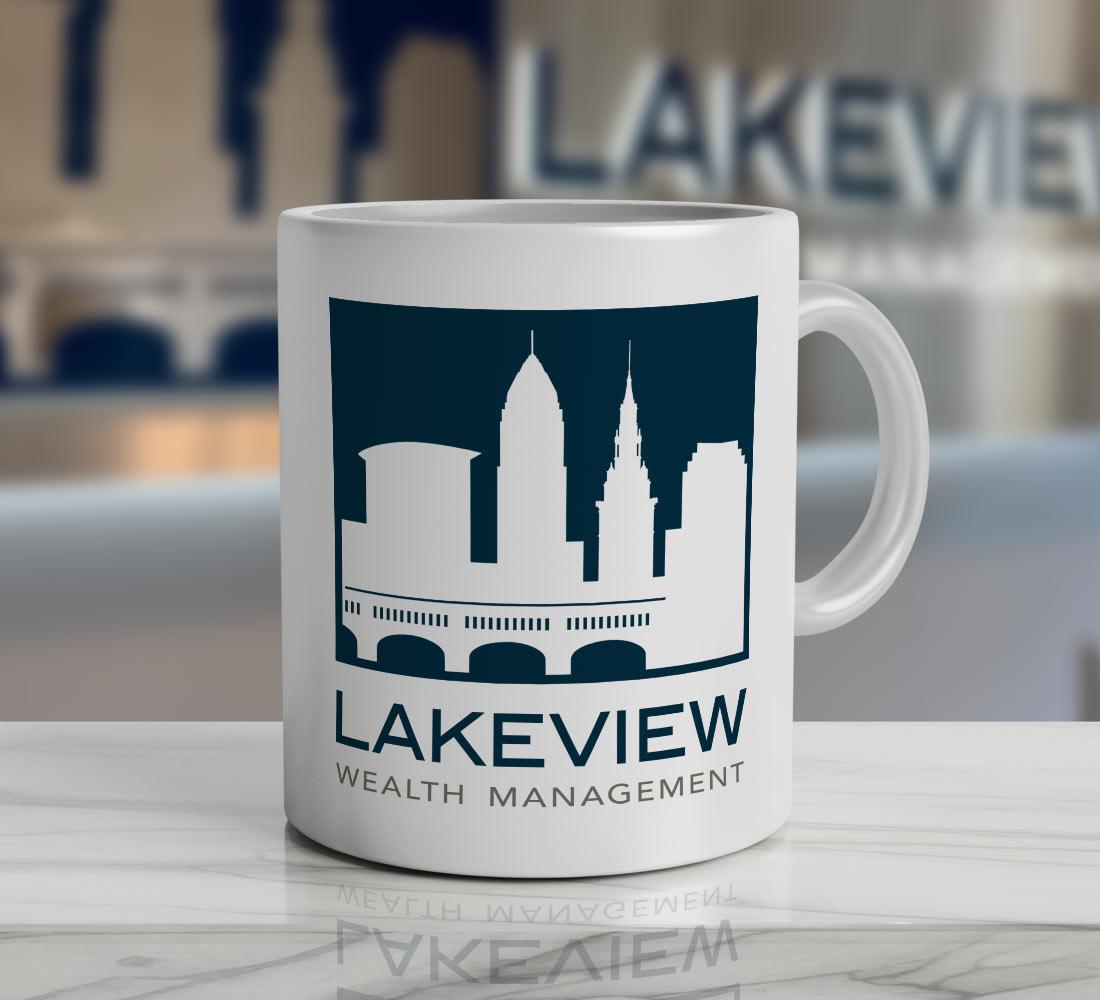 Lakeview Financial Services Logo Design