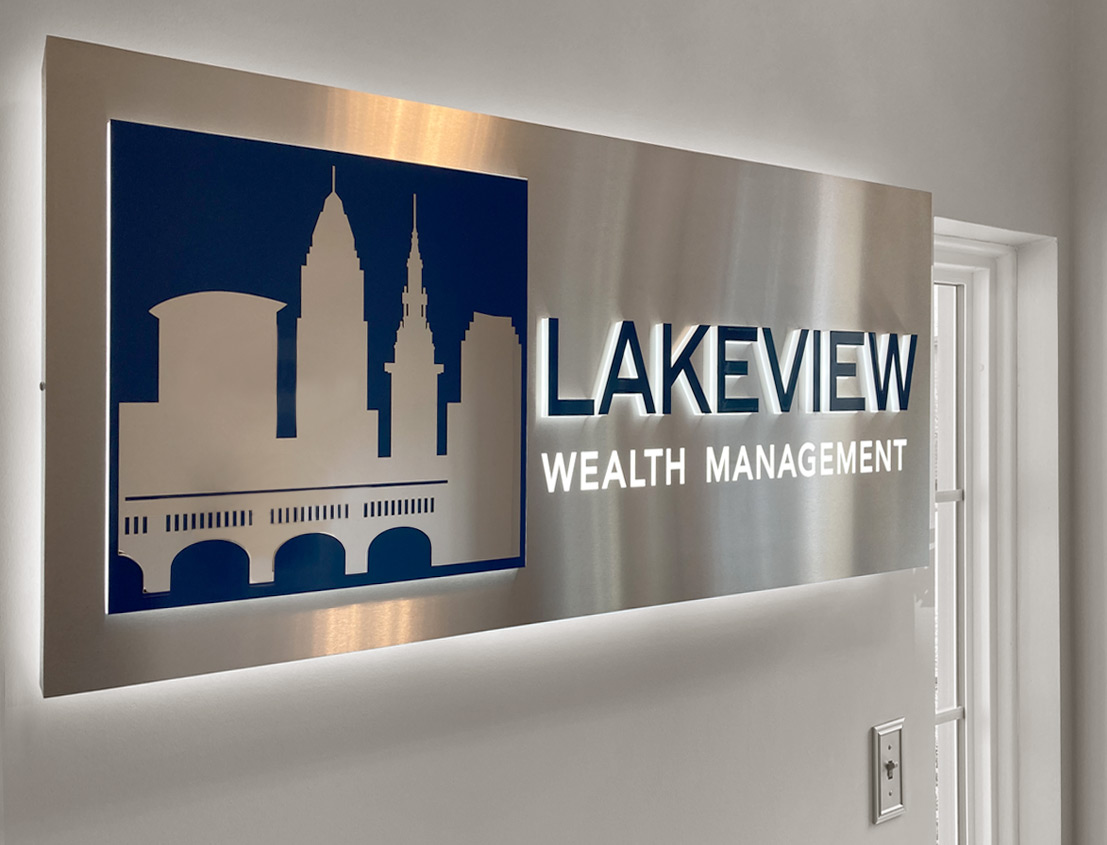 Lakeview Financial Services Branding