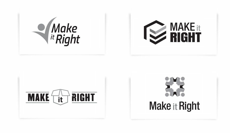 Make It Right Inclusive Fulfillment Branding